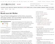 ZeitOnline, 19 May 2009