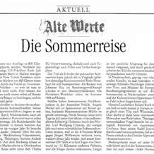 Der Freitag, 17 August 2001