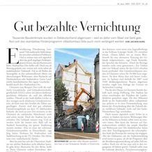 Die Zeit, 18 June 2009