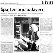 Junge Welt, 16 November 2005